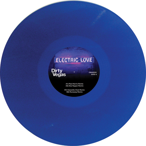 Dirty Vegas/ELECTRIC LOVE 12""