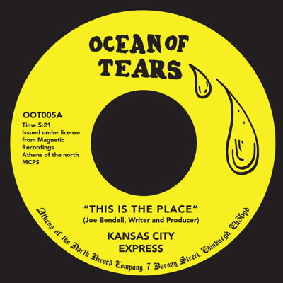 Kansas City Express/THIS IS THE PLACE 7""