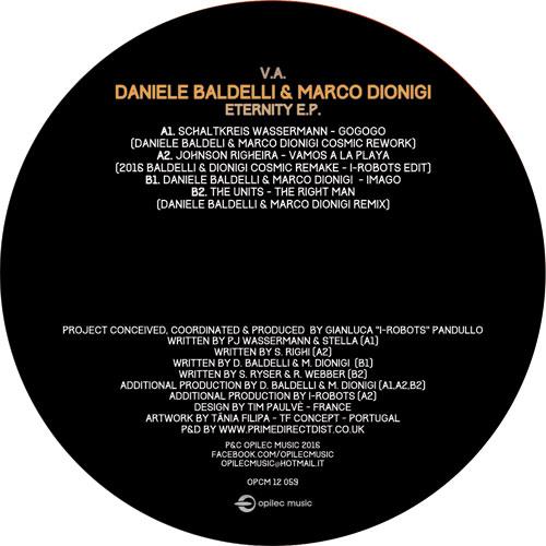 "Daniele Baldelli/ETERNITY EP 12"""