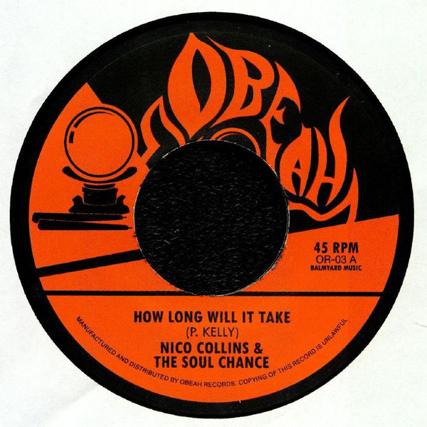 """Soul Chance/HOW LONG WILL IT TAKE? 7"""""""