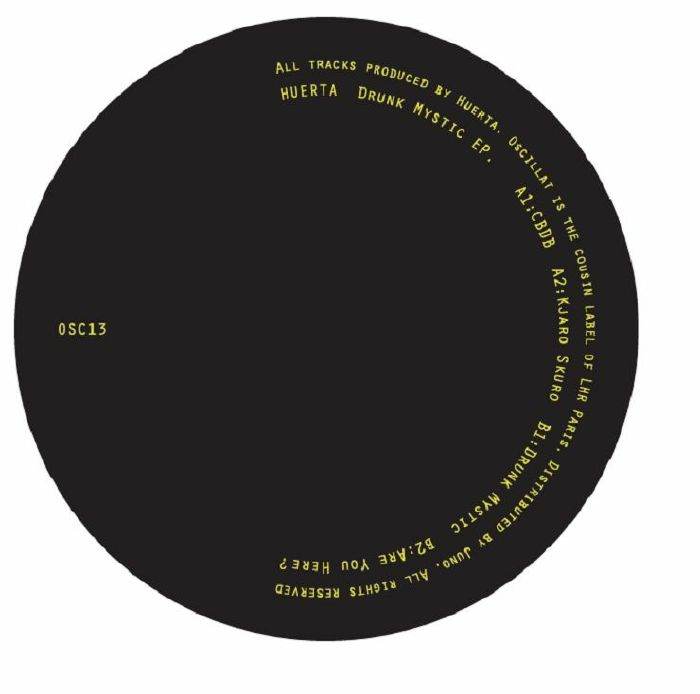 "Huerta/DRUNK MYSTIC EP 12"""
