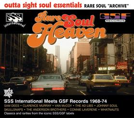 Various/RARE SOUL HEAVEN CD