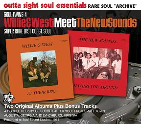 Willie & West- New Sounds/SOUL TWINS CD