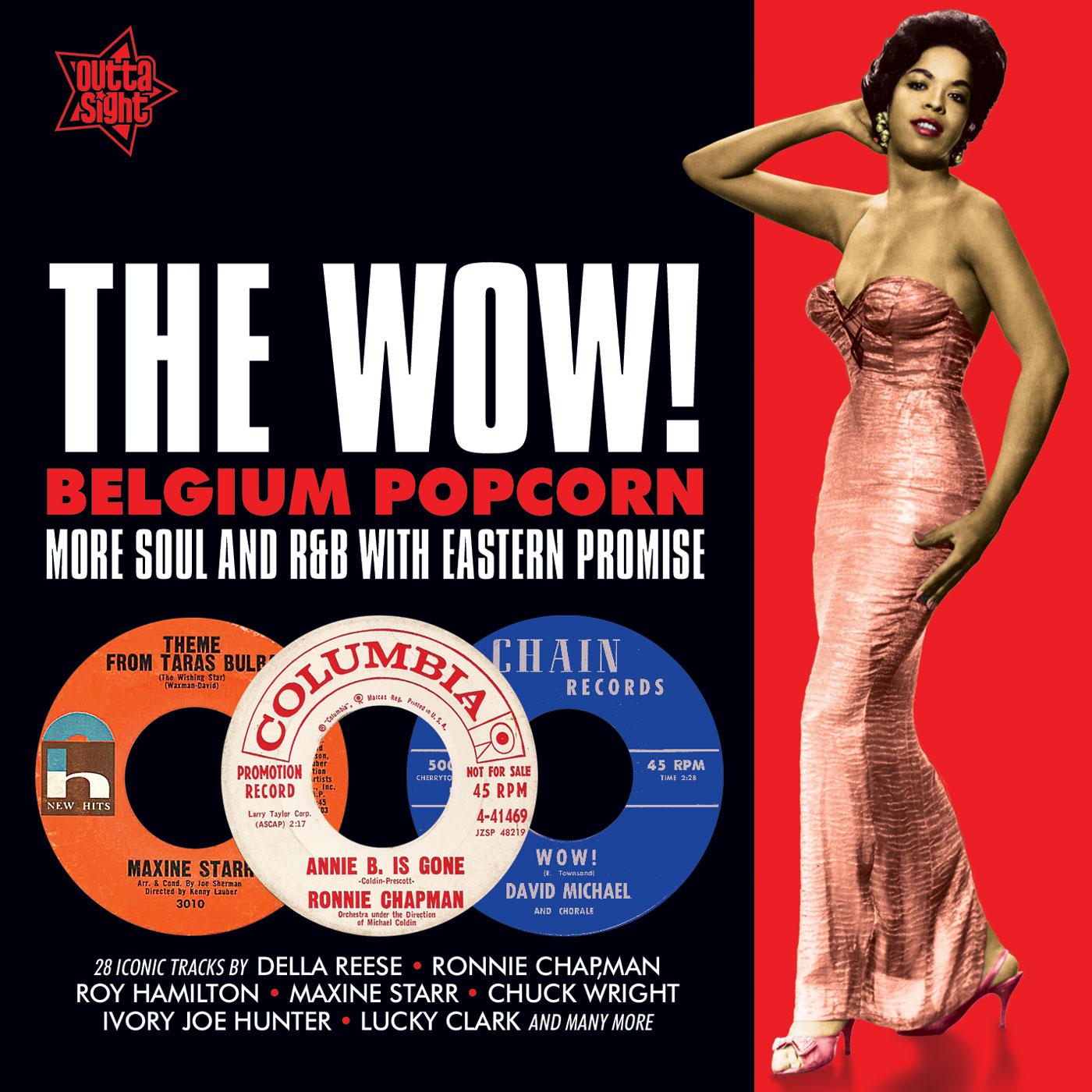 Various/THE WOW! BELGIUM POPCORN CD