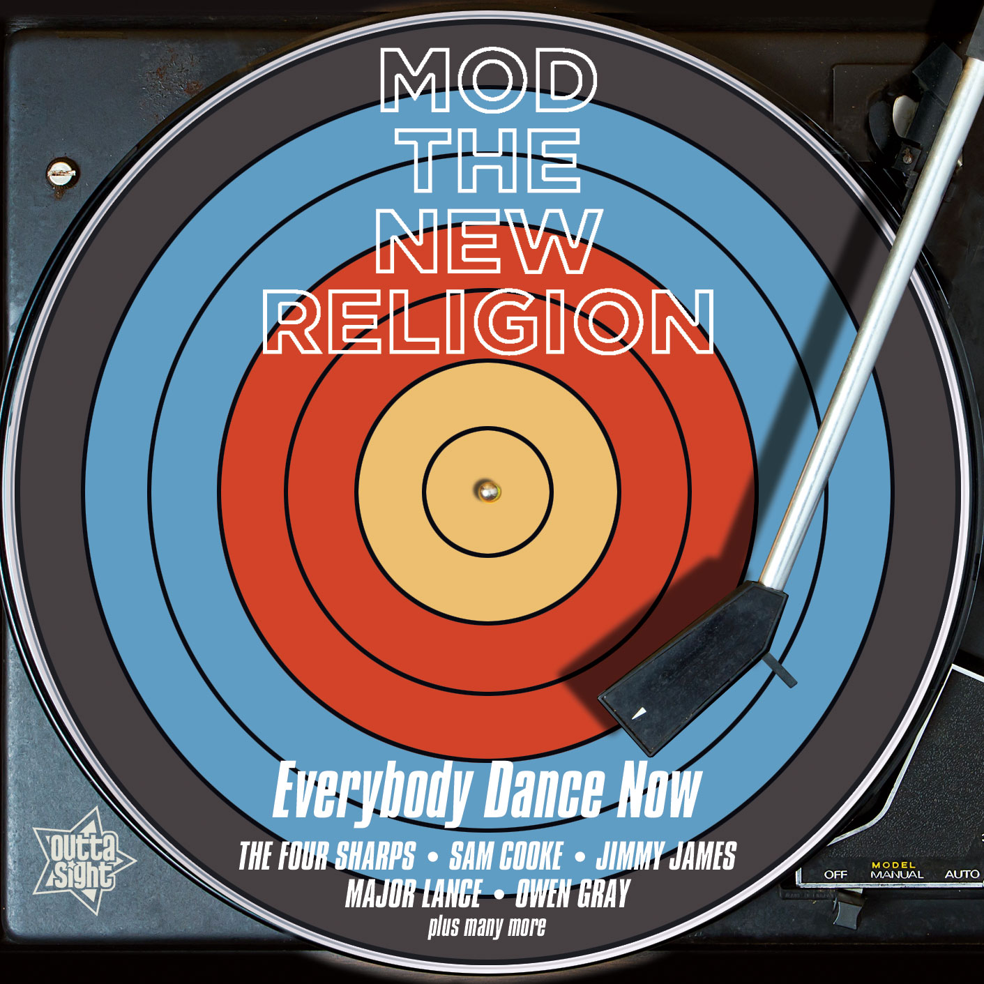 Various/MOD THE NEW RELIGION CD