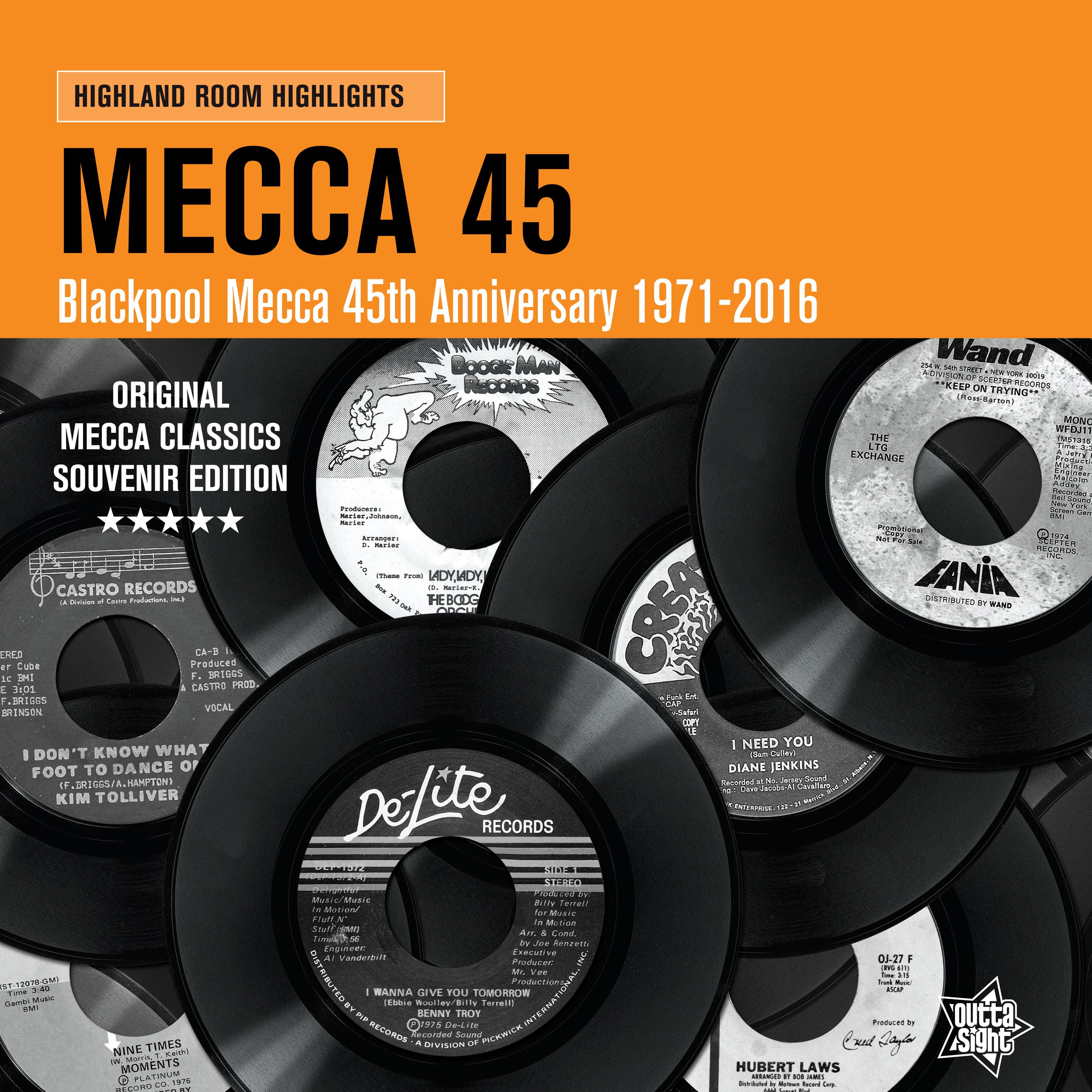 Northern Soul/MECCA 45 LP