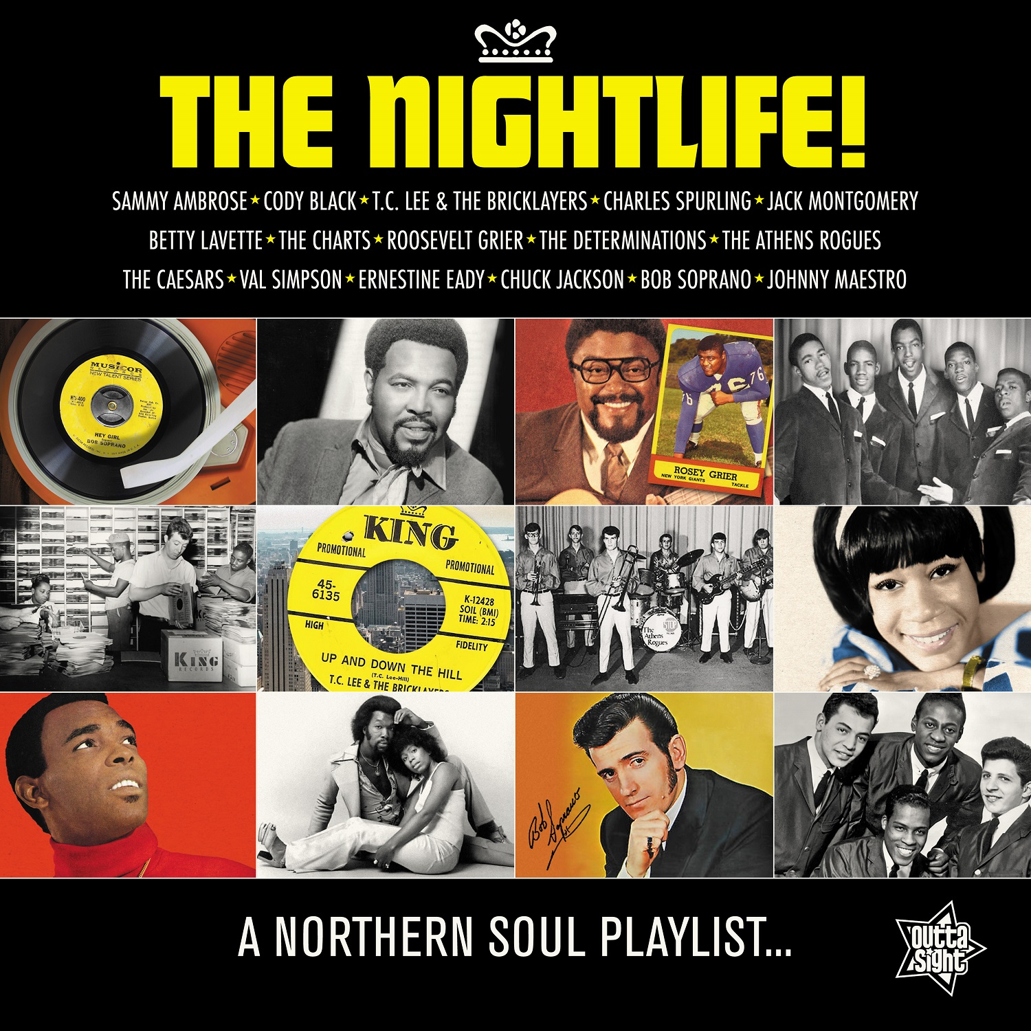 Northern Soul/THE NIGHTLIFE! LP