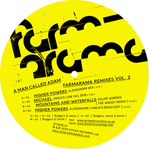 A Man Called Adam/FARMARAMA RMX'S V2 12""
