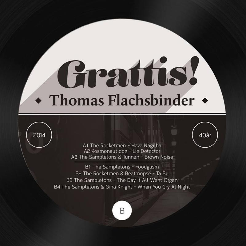 Thomas Flachsbinder AKA/GRATTIS! LP