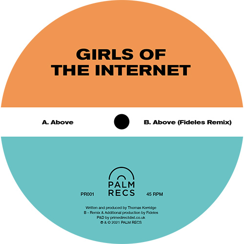 """Girls Of The Internet/ALONE 12"""""""