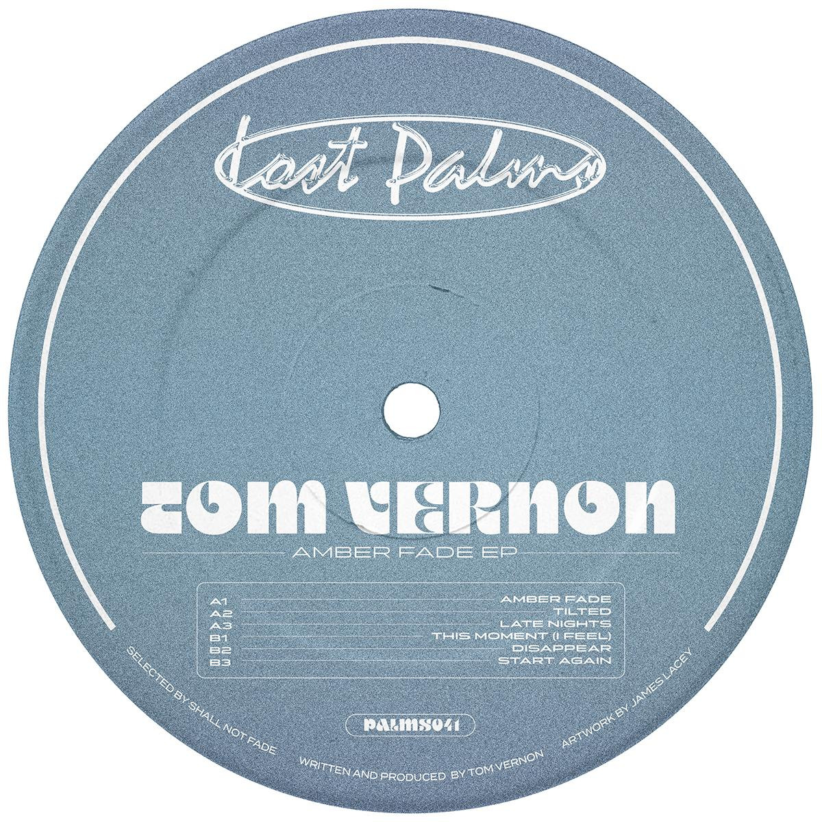 "Tom Vernon/AMBER FADE EP 12"""