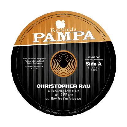 Christopher Rau/HOW ARE YOU 12""