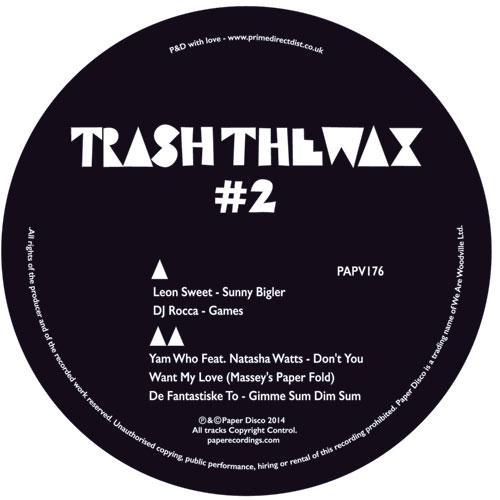 "Various/TRASH THE WAX #2 EP 12"""