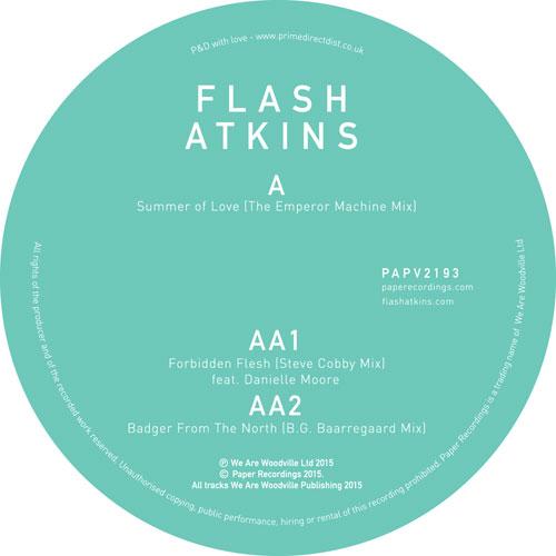"""Flash Atkins/SUMMER-EMPEROR MACHINE 12"""""""