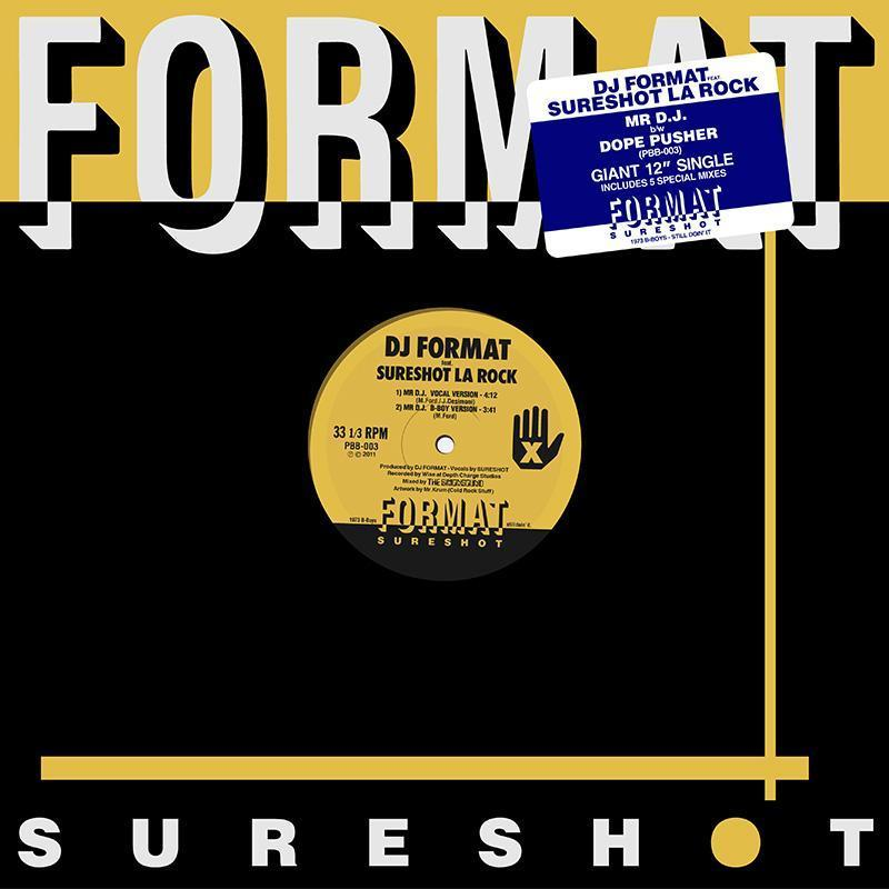 "DJ Format/MR DJ EP 12"""