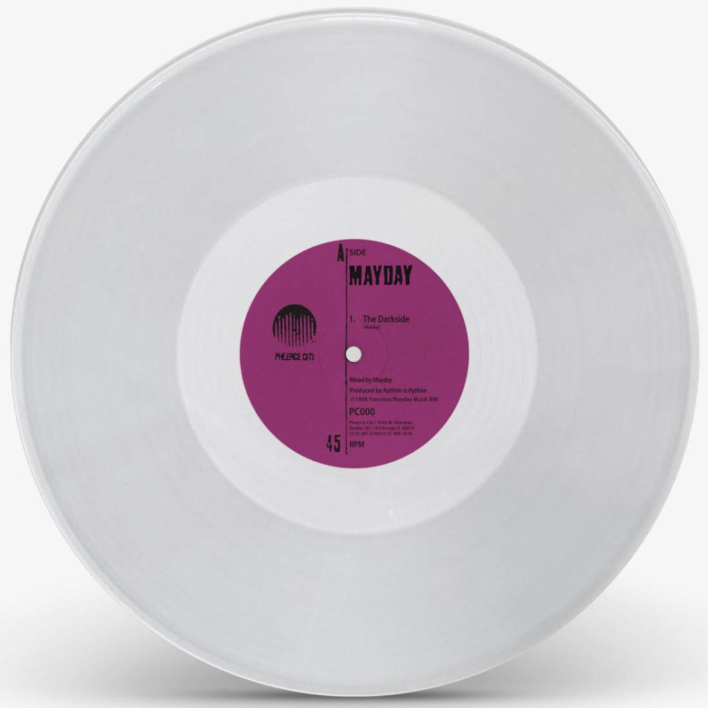 "Mayday (Derrick May)/DARKSIDE-CLEAR 12"""