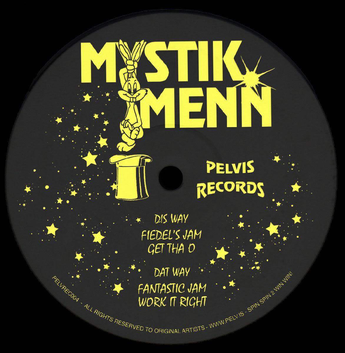 """Mystik Menn/PELVREC004 12"""""""
