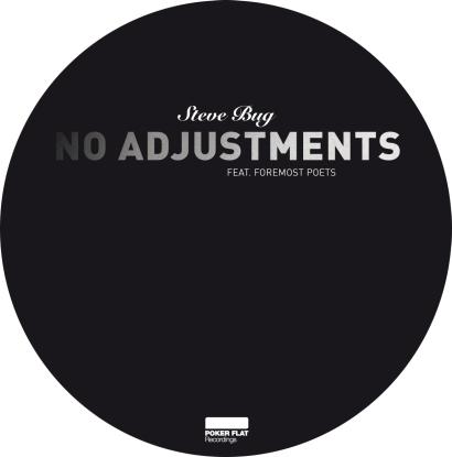 "Steve Bug/NO ADJUSTMENTS-ARTTU REMIX 12"""
