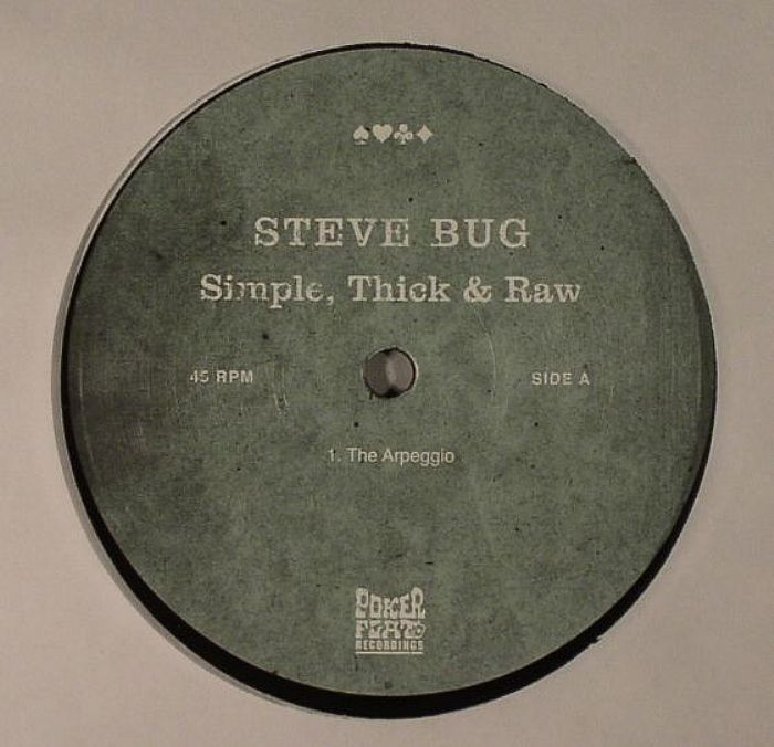 Steve Bug/SIMPLE,THICK & RAW 12""
