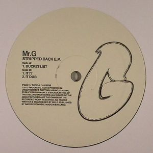 Mr. G/STRIPPED BACK EP 12""