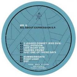 Mr. G/ALL ABOUT EXPRESSION EP 12""