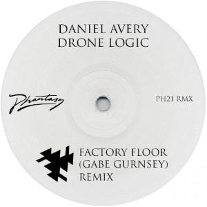 "Daniel Avery/DRONE LOGIC REMIX 12"""
