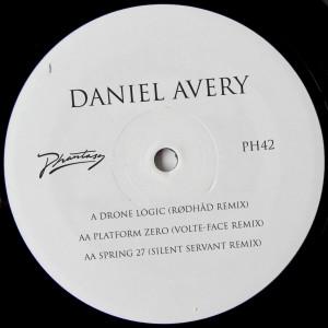 "Daniel Avery/RODHAD, SILENT.. RMX 12"""