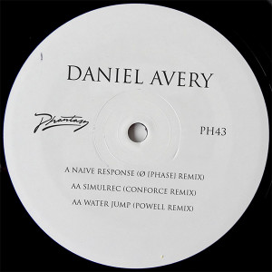 Daniel Avery/O PHASE, CONFORCE RMXS 12""