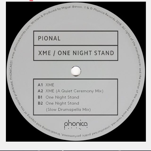 Pional/XME & ONE NIGHT STAND 12""