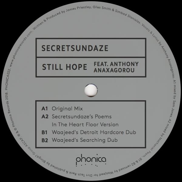 """Secretsundaze/STILL HOPE 12"""""""