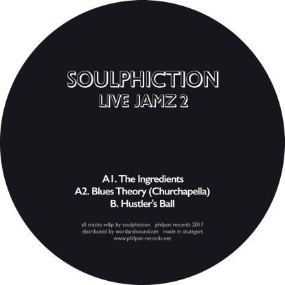 """Soulphiction/LIVE JAMZ 2 12"""""""