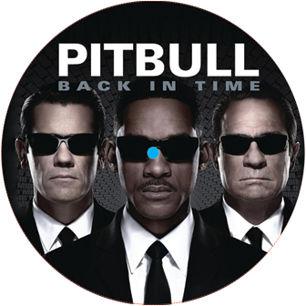 """Pitbull/BACK IN TIME REMIXES 12"""""""