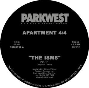 "Apartment 4-4/THE ISMS & CITY DREEMS 12"""