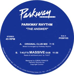 "Parkway Rhythm/THE ANSWER 12"""