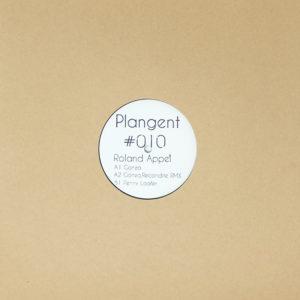 "Roland Appel/GONZO (RECONDITE REMIX) 12"""