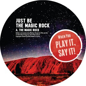 """Just Be/THE MAGIC ROCK 12"""""""