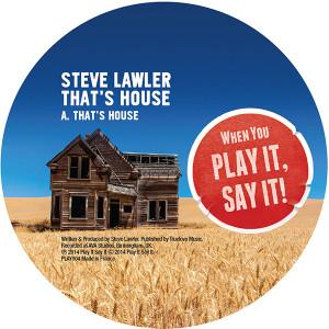 """Steve Lawler/THAT'S HOUSE 12"""""""