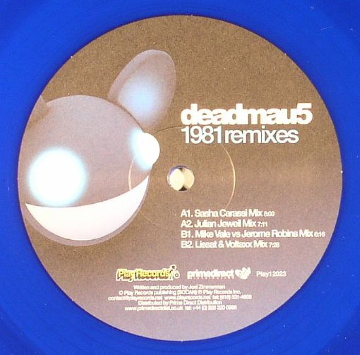 Deadmau5/1981 REMIXES (BLUE VINYL) 12""