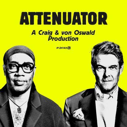 "Carl Craig & M.V.O./ATTENUATOR 12"""