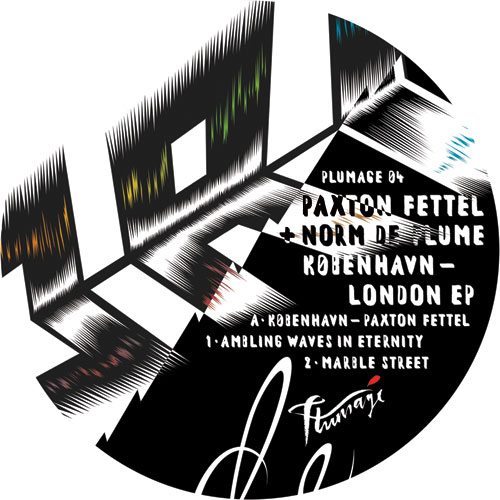 "P. Fettel & Norm De Plume/KOBENHAVN 12"""
