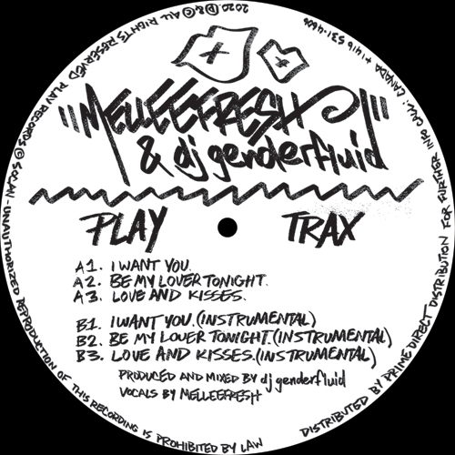 "Melleefresh & dj genderfluid/I WANT 12"""