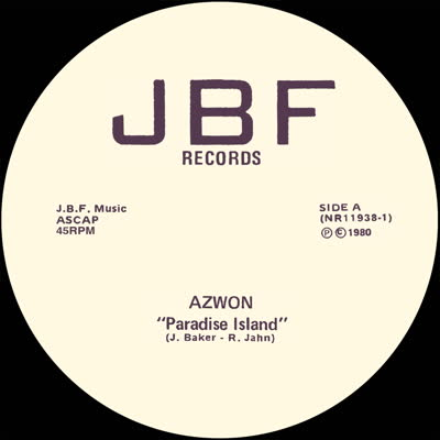 """Azwon/PARADISE ISLAND 12"""""""