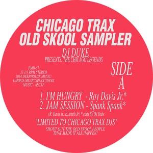 "DJ Duke/THE CHICAGO LEGENDS VOL 1 12"""