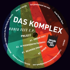 """Das Komplex/UNDER FEET EP 12"""""""