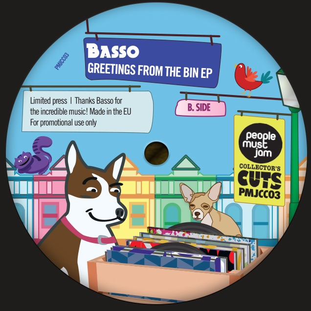 """Basso/GREETINGS FROM THE BIN EP 12"""""""