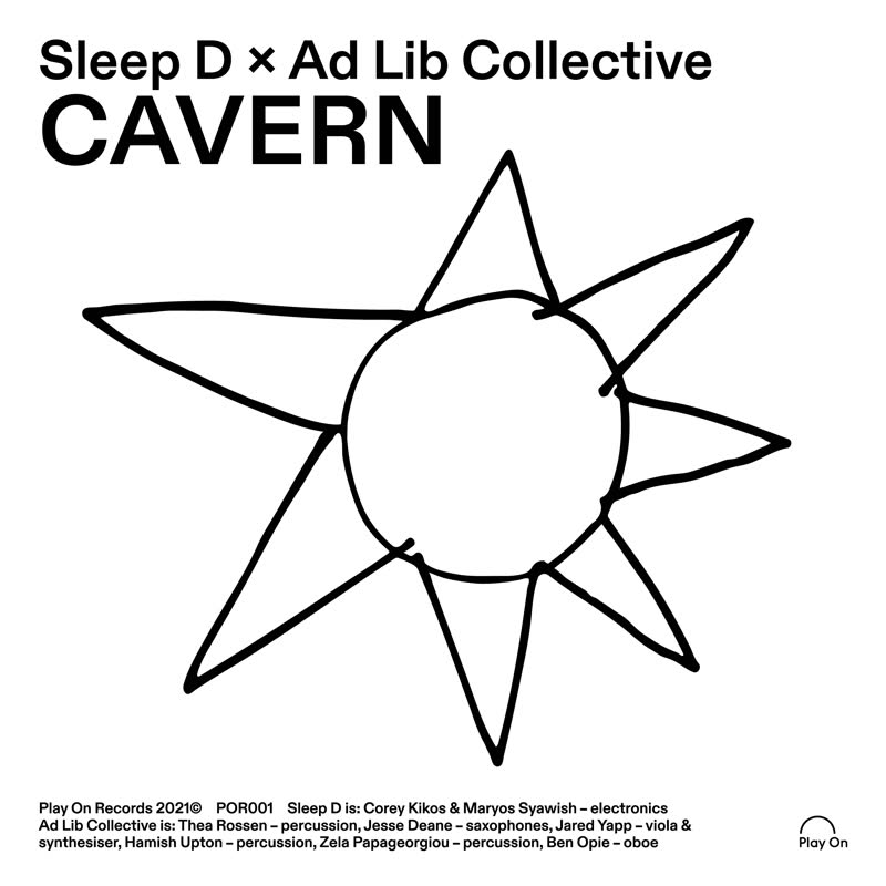 "Sleep D & Ad Lib Collective/CAVERN 7"""