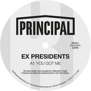 "Ex Presidents/YOU GOT ME 12"""