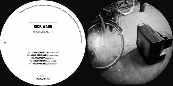 "Rick Wade/YOUR STRENGTH EP 12"""