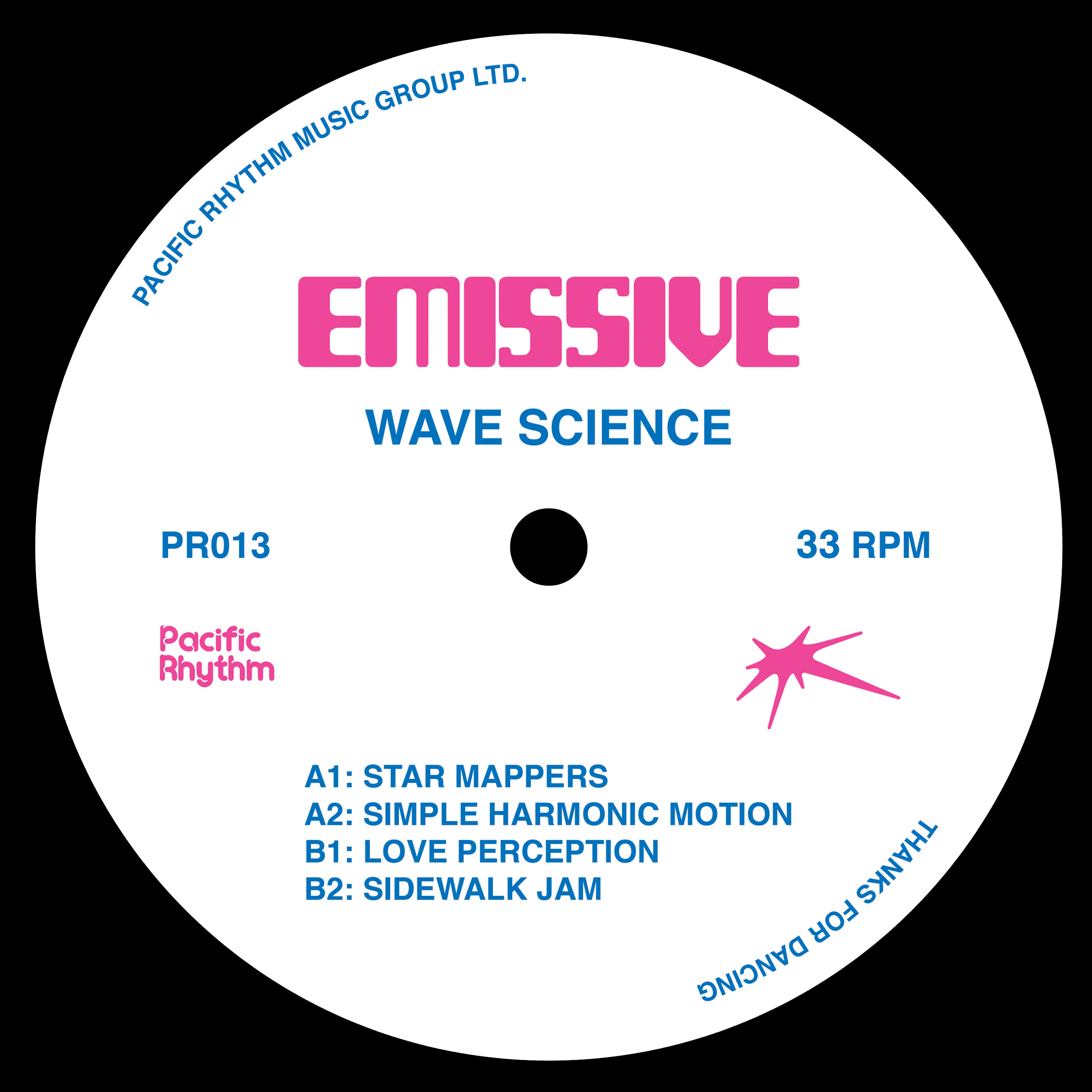 Emissive/WAVE SCIENCE 12""