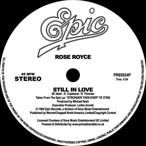 "Rose Royce/STILL IN LOVE 12"""